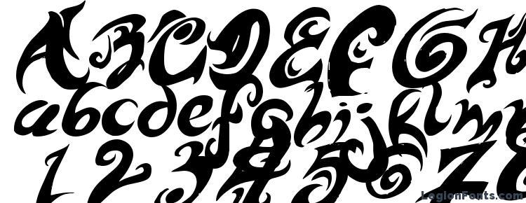 глифы шрифта HURT ME Please!, символы шрифта HURT ME Please!, символьная карта шрифта HURT ME Please!, предварительный просмотр шрифта HURT ME Please!, алфавит шрифта HURT ME Please!, шрифт HURT ME Please!
