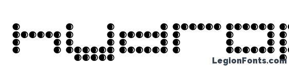 Шрифт Hydrophonic
