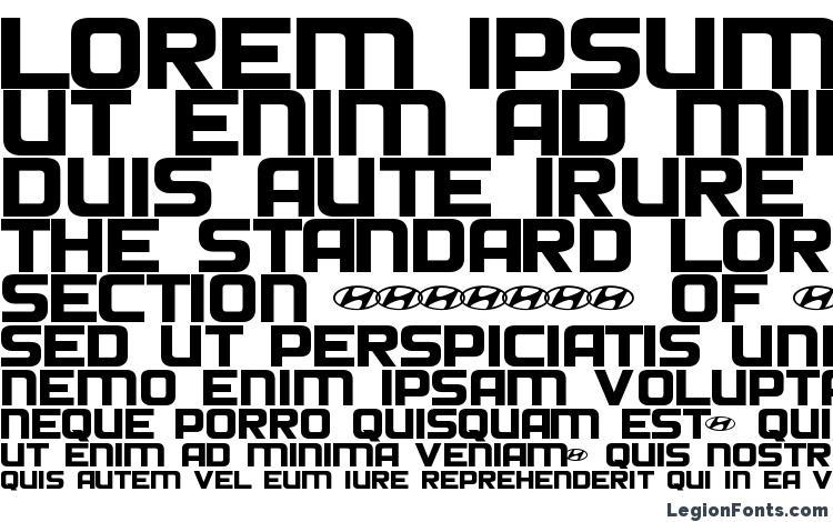 specimens Hyundai Normal font, sample Hyundai Normal font, an example of writing Hyundai Normal font, review Hyundai Normal font, preview Hyundai Normal font, Hyundai Normal font