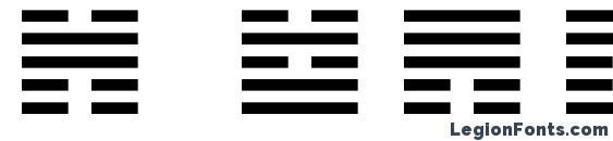 Шрифт I Ching