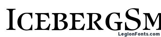 IcebergSmc Regular DB Font