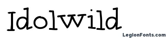 Idolwild font, free Idolwild font, preview Idolwild font