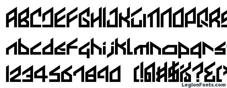 глифы шрифта Ikkoue, символы шрифта Ikkoue, символьная карта шрифта Ikkoue, предварительный просмотр шрифта Ikkoue, алфавит шрифта Ikkoue, шрифт Ikkoue