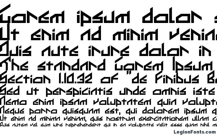 specimens Ikkoue font, sample Ikkoue font, an example of writing Ikkoue font, review Ikkoue font, preview Ikkoue font, Ikkoue font