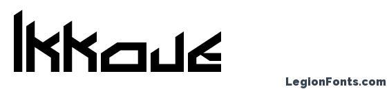 Шрифт Ikkoue