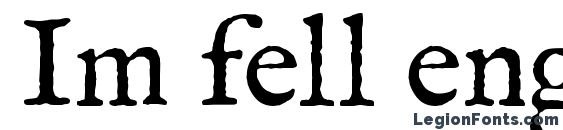 Im fell english roman Font