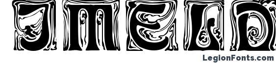 Шрифт IMELDA Regular