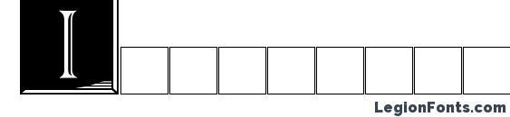 Шрифт Imperatorplaque