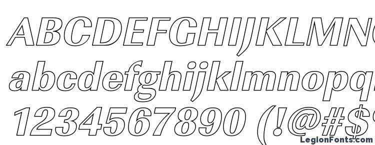 glyphs ImperialOu Xbold Italic font, сharacters ImperialOu Xbold Italic font, symbols ImperialOu Xbold Italic font, character map ImperialOu Xbold Italic font, preview ImperialOu Xbold Italic font, abc ImperialOu Xbold Italic font, ImperialOu Xbold Italic font