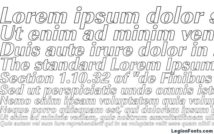 specimens ImperialOu Xbold Italic font, sample ImperialOu Xbold Italic font, an example of writing ImperialOu Xbold Italic font, review ImperialOu Xbold Italic font, preview ImperialOu Xbold Italic font, ImperialOu Xbold Italic font