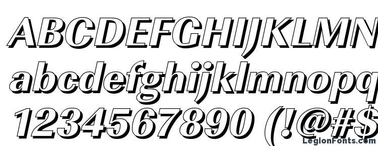 глифы шрифта ImperialSh Xbold Italic, символы шрифта ImperialSh Xbold Italic, символьная карта шрифта ImperialSh Xbold Italic, предварительный просмотр шрифта ImperialSh Xbold Italic, алфавит шрифта ImperialSh Xbold Italic, шрифт ImperialSh Xbold Italic