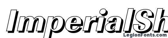 Шрифт ImperialSh Xbold Italic