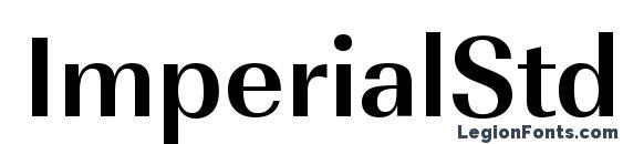 Шрифт ImperialStd Bold
