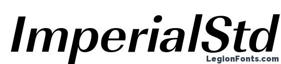 ImperialStd BoldItalic Font