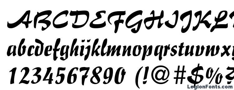 glyphs Impresario Regular DB font, сharacters Impresario Regular DB font, symbols Impresario Regular DB font, character map Impresario Regular DB font, preview Impresario Regular DB font, abc Impresario Regular DB font, Impresario Regular DB font