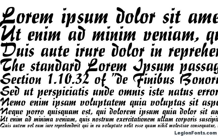 specimens Impresario Regular DB font, sample Impresario Regular DB font, an example of writing Impresario Regular DB font, review Impresario Regular DB font, preview Impresario Regular DB font, Impresario Regular DB font