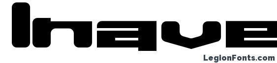 Шрифт Inavelkusin