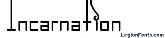 Incarnation Font