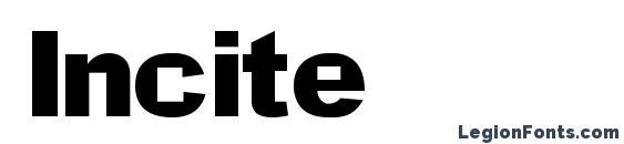 Incite font, free Incite font, preview Incite font