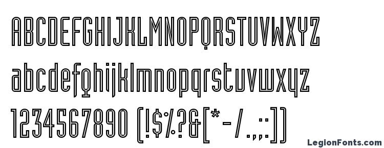 glyphs Industria LT Inline A font, сharacters Industria LT Inline A font, symbols Industria LT Inline A font, character map Industria LT Inline A font, preview Industria LT Inline A font, abc Industria LT Inline A font, Industria LT Inline A font