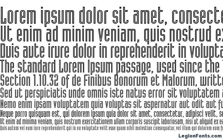 specimens Industria LT Inline A font, sample Industria LT Inline A font, an example of writing Industria LT Inline A font, review Industria LT Inline A font, preview Industria LT Inline A font, Industria LT Inline A font