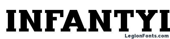 Infantylfat Font