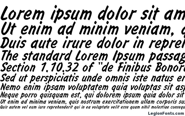 specimens InformATT font, sample InformATT font, an example of writing InformATT font, review InformATT font, preview InformATT font, InformATT font