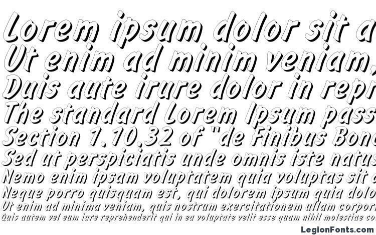 specimens Informshadowc font, sample Informshadowc font, an example of writing Informshadowc font, review Informshadowc font, preview Informshadowc font, Informshadowc font