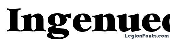 Ingenuedisplayssk regular font, free Ingenuedisplayssk regular font, preview Ingenuedisplayssk regular font