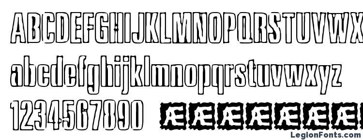glyphs Ink Tank BRK font, сharacters Ink Tank BRK font, symbols Ink Tank BRK font, character map Ink Tank BRK font, preview Ink Tank BRK font, abc Ink Tank BRK font, Ink Tank BRK font