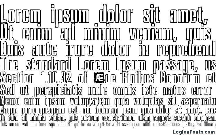 specimens Ink Tank BRK font, sample Ink Tank BRK font, an example of writing Ink Tank BRK font, review Ink Tank BRK font, preview Ink Tank BRK font, Ink Tank BRK font