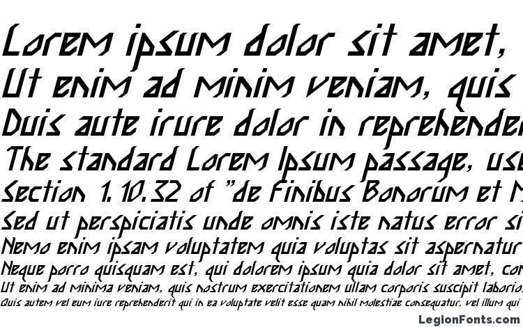 specimens Inka Bod Italic font, sample Inka Bod Italic font, an example of writing Inka Bod Italic font, review Inka Bod Italic font, preview Inka Bod Italic font, Inka Bod Italic font