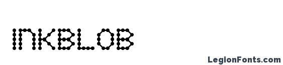 Inkblob font, free Inkblob font, preview Inkblob font