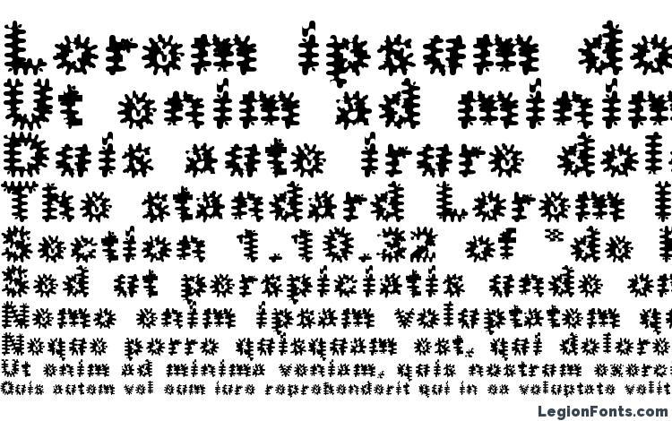 образцы шрифта Inkblots, образец шрифта Inkblots, пример написания шрифта Inkblots, просмотр шрифта Inkblots, предосмотр шрифта Inkblots, шрифт Inkblots