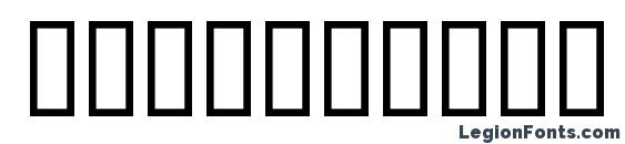 Шрифт Insert 2, Шрифты для цифр и чисел
