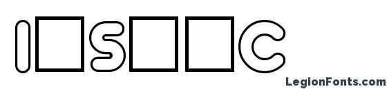 InsetC Font