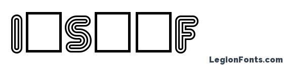 InsetF Font
