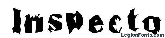 Inspecto Font, Halloween Fonts