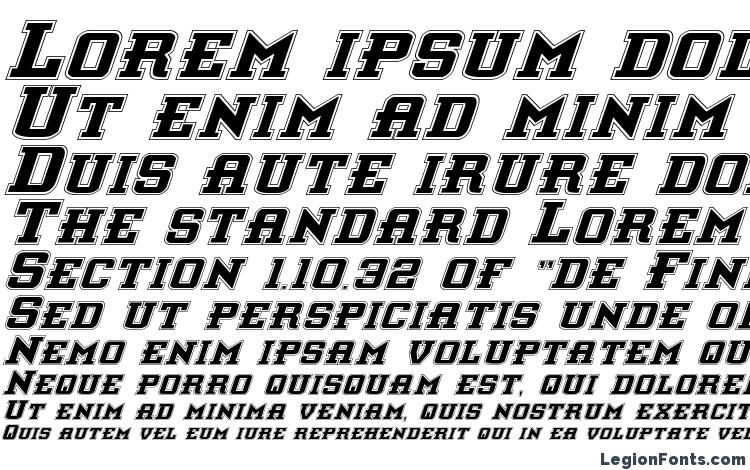 specimens Interceptor Pro Italic font, sample Interceptor Pro Italic font, an example of writing Interceptor Pro Italic font, review Interceptor Pro Italic font, preview Interceptor Pro Italic font, Interceptor Pro Italic font