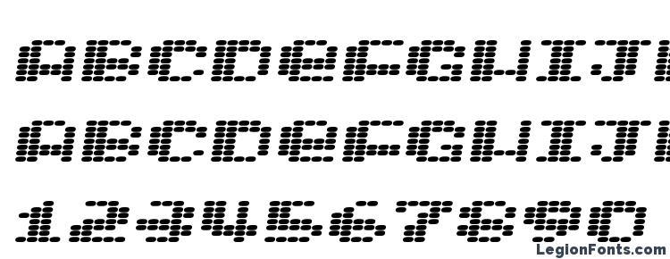 глифы шрифта Intergalaktika 2, символы шрифта Intergalaktika 2, символьная карта шрифта Intergalaktika 2, предварительный просмотр шрифта Intergalaktika 2, алфавит шрифта Intergalaktika 2, шрифт Intergalaktika 2
