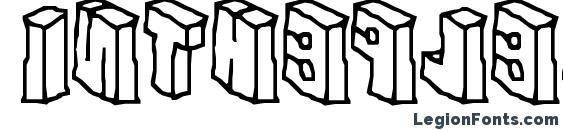 Intheflesh Font
