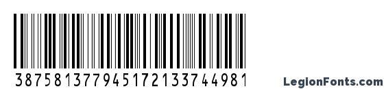 Шрифт IntHrP48DmTt, Шрифты для штрих-кода
