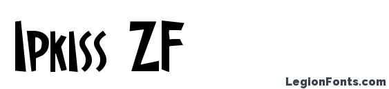 Ipkiss ZF Font