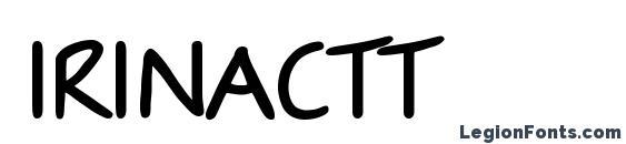Шрифт IrinaCTT