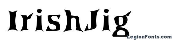 IrishJig Font