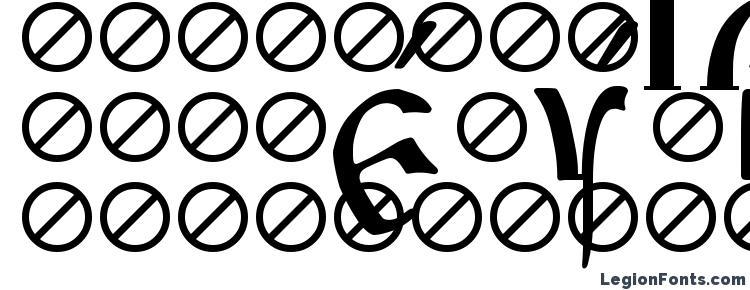 glyphs Irmologion Acute font, сharacters Irmologion Acute font, symbols Irmologion Acute font, character map Irmologion Acute font, preview Irmologion Acute font, abc Irmologion Acute font, Irmologion Acute font