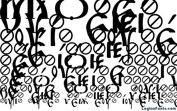 specimens Irmologion Acute font, sample Irmologion Acute font, an example of writing Irmologion Acute font, review Irmologion Acute font, preview Irmologion Acute font, Irmologion Acute font