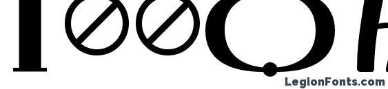 Irmologion BrthCircumflex Font