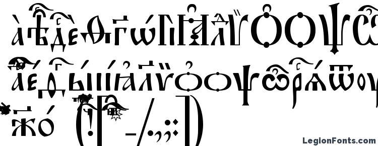 глифы шрифта Irmologion Ucs, символы шрифта Irmologion Ucs, символьная карта шрифта Irmologion Ucs, предварительный просмотр шрифта Irmologion Ucs, алфавит шрифта Irmologion Ucs, шрифт Irmologion Ucs