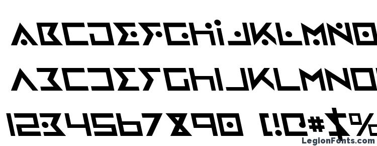 glyphs Iron Cobra Leftalic font, сharacters Iron Cobra Leftalic font, symbols Iron Cobra Leftalic font, character map Iron Cobra Leftalic font, preview Iron Cobra Leftalic font, abc Iron Cobra Leftalic font, Iron Cobra Leftalic font
